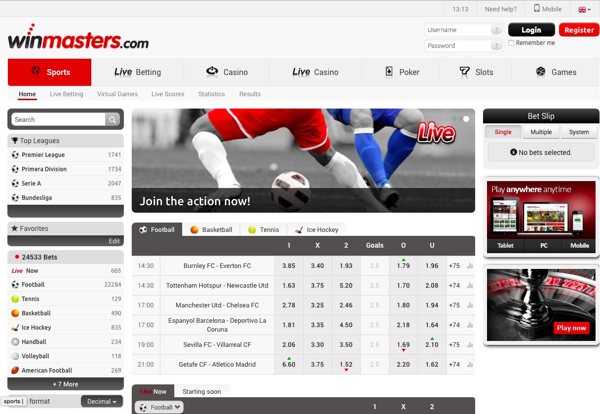 winmasters web